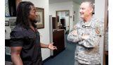 Kingston meets Major General Jay W. Hood, Chief of Staff of CENTCOM.