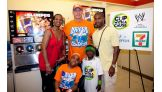 Omari and his family traveled from Cambria Heights, N.Y., to see Cena.
