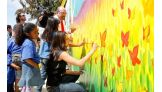 The Divas and Superstars showed off their artistic sides.