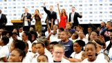 WWE Superstars Sheamus, The Miz and Eve joined WWE Executive Vice President of Creative Stephanie McMahon and American Idol's James Durbin for a be a STAR Alliance rally in St. Louis prior to Raw 1,000.
