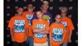 Lee and his family traveled to Cincinnati to meet John Cena.