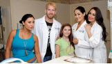 The girls in the hospital were thrilled to meet Divas like Maxine and The Bellas.