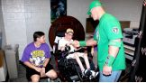 Cody Thoman meets his favorite WWE Superstar, John Cena.