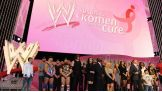 The WWE Superstars and Divas gather to celebrate Susan G. Komen for the Cure.