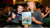 The Reading Challenge winners from Germany attend the World Finals.