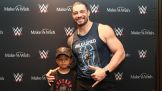 Roman Reigns grants Jaylen's wish