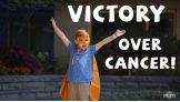 Do the V to show your support for Connor's Cure during Pediatric Cancer Awareness Month