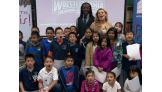 Kofi Kingston and Natalya participate in a Reading Celebration in Austin, TX: January 8, 2013