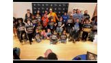 John Cena and fellow WWE Superstars brighten spirits at the Make a Wish pizza party