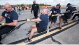 NXT Superstars and Special Olympics athletes compete in the annual Plane Pull challenge