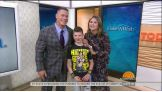 """John Cena is surprised on NBC's """"Today"""" by Nick """"The Stitch"""""""