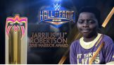 "Jarrius ""JJ"" Robertson to receive the 2018 Warrior Award"
