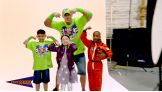 Go behind the scenes of John Cena's new Make-A-Wish video