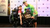 John Cena inducts wish kids into WWE's Circle of Champions during WrestleMania Week