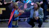 WWE Kid Superstar reveal at WrestleMania Axxess